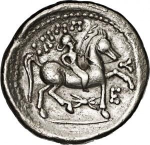 Celtowie wschodni, Dolny Dunaj, naśladownictwo tetradrachmy Filipa II, III w. p.n.e.