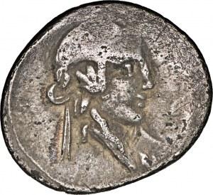 Republika Rzymska, Q. Titius 90 p.n.e., denar 90 p.n.e., Rzym