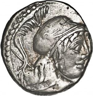Republika Rzymska, Cn. Cornelius Lentulus Clodianus 88 p.n.e., denar 88 p.n.e., Rzym