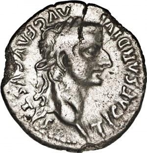 Cesarstwo Rzymskie, Tyberiusz (14 – 37), denar, po 16 r., Lugdunum,