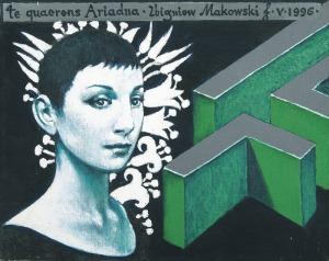 Makowski Zbigniew, TE QUAERENS, ARIADNA, ..., 1996