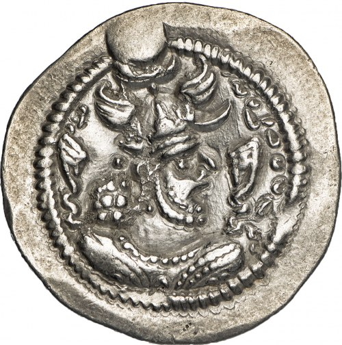 Persja, Sasanidzi, Peroz (457-484), drachma.