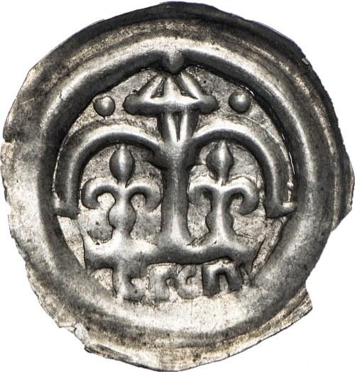 Księstwo krakowskie, Leszek Biały (1202-1227)?, brakteat.