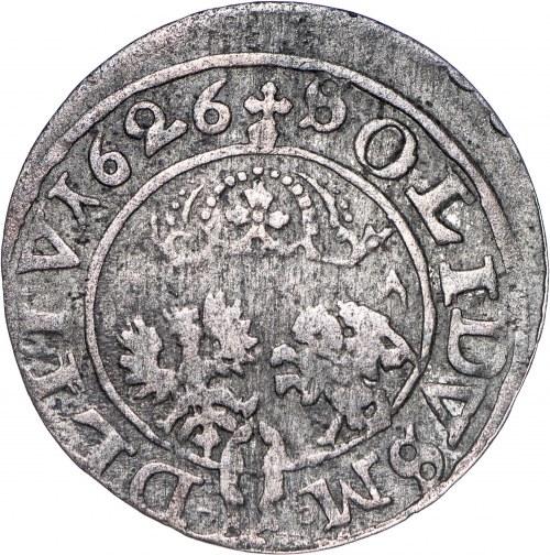 Zygmunt III Waza (1587–1632), szeląg, 1626, Wilno.