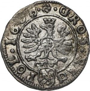 Zygmunt III Waza (1587–1632), grosz, 1608, Kraków.