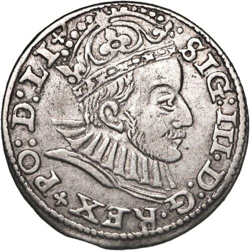 Zygmunt III Waza (1587–1632), trojak, 1588, Ryga.