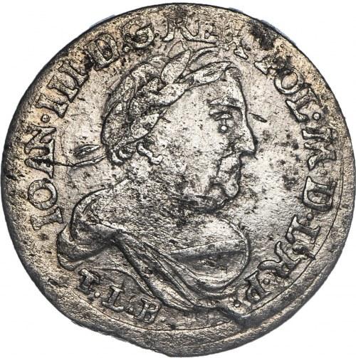 Jan III Sobieski (1674–1696), szóstak, 1680, Bydgoszcz.