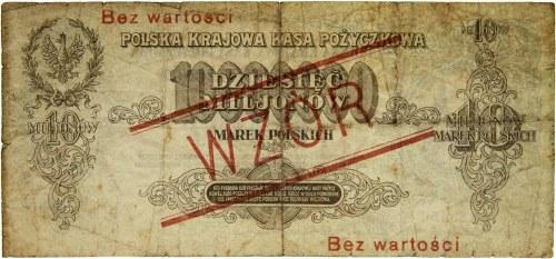 II Rzeczpospolita Polska 1918-1939, 10.000.000 marek polskich 20.11.1923
