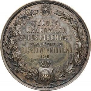 Medal Nagrodowy Krakowskiej Szkoły Sztuk Pięknych.
