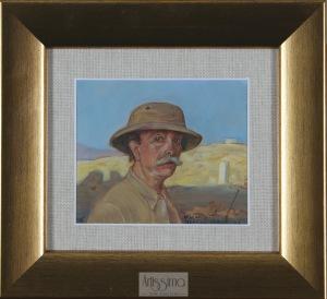 Wlastimil Hofman, Autoportret z Jerozolimy, 1946