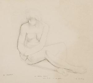 Mojżesz KISLING (1891-1953), Akt kobiety