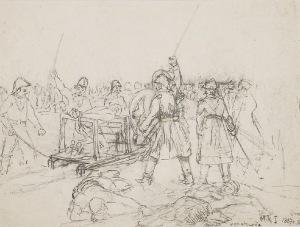 Maksymilian OBORSKI (1809-1878), Egzekucja