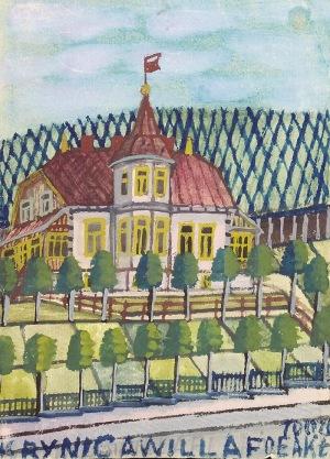 Nikifor KRYNICKI (1895-1968), Ratusz