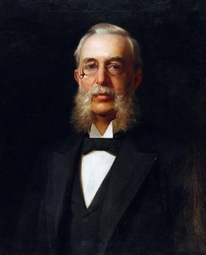 Zygmunt AJDUKIEWICZ (1861-1917), Portret męski