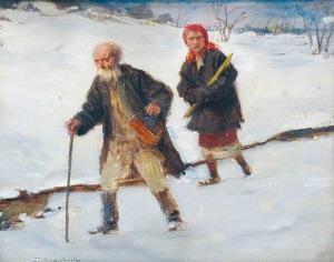 Teodor AXENTOWICZ (1859-1938), Na Gromniczną