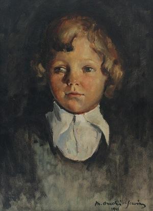 Mieczysław ORACKI - SERWIN (1912-1977), Portret chłopczyka, 1941