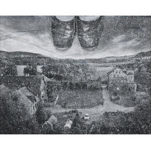 Andrzej DUDEK-DURER (ur. 1471), Sztuka butów, Wobec miejsca..., Żywa rzeźba, 1969-2013