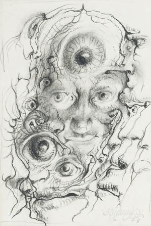 Franciszek STAROWIEYSKI (1930-2009), Oczy, 1978