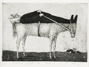 Stasys EIDRIGEVICIUS (ur. 1949), Ostatnia podróż, 1986
