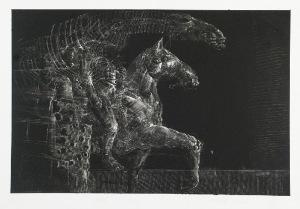 Kacper BOŻEK (ur. 1974), Konie, 1998