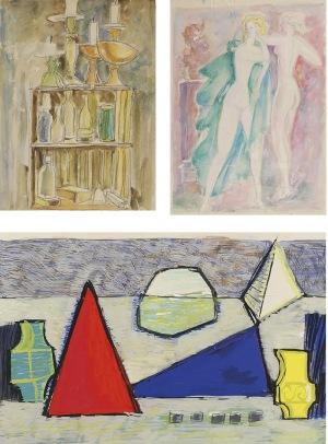 Tadeusz GRONOWSKI (1894-1990), Zestaw trzech prac
