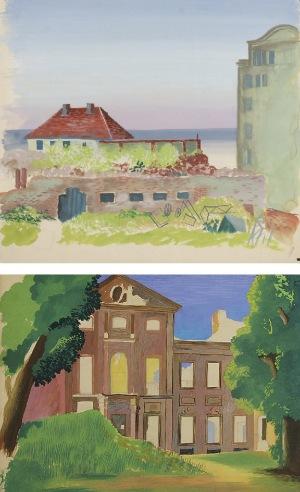 Tadeusz GRONOWSKI (1894-1990), Dwa motywy architektoniczne