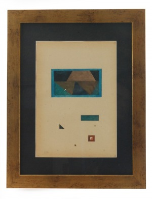 Jerzy NOWOSIELSKI (1923-2011), Abstrakcja geometryczna, ok. 1958