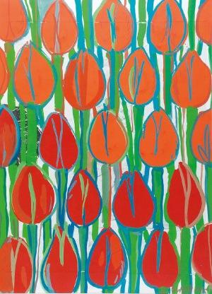 Edward DWURNIK (ur. 1943), Tulipany