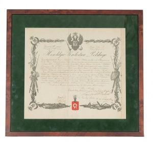 Heroldya Królestwa Polskiego, PATENT Z 1852