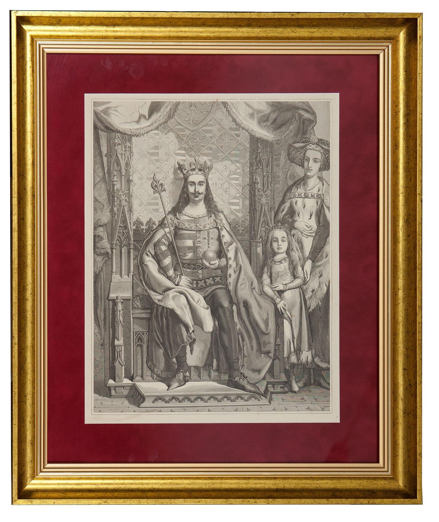 Matejko Jan (1838-1893), Ludwik I, Król Węgierski i Polski