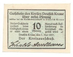 Wałcz - Deutsch Krone - 10 fenigów 1917