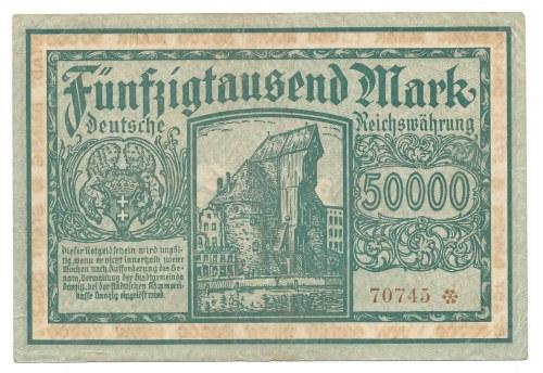 Gdańsk - Danzig - 50 000 marek 1923