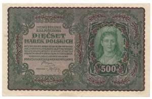 500 marek 1919 - II Serja AT - ostatnia seria