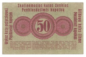Poznań - Posen - 50 kopiejek 1916 - klauzula ...nabywa... duża czcionka