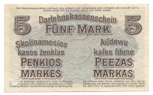 Kowno - 5 marek 1918 -