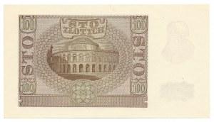 100 złotych 1940 - B - falsyfikat ZWZ -