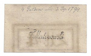 4 złote 1794 (2) (D) - z adnotacją