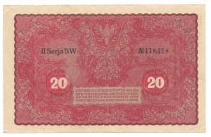 20 marek 1919 - II Serja BW - bardzo ciekawa numeracja 478,478