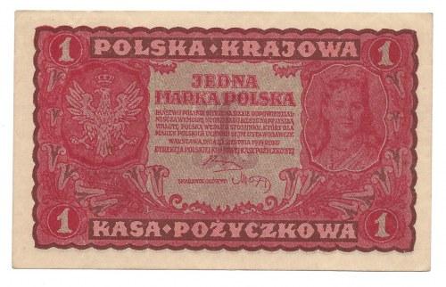 1 marka 1919 - I Serja AR -