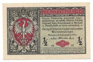 1/2 marki 1916 - Generał- B -