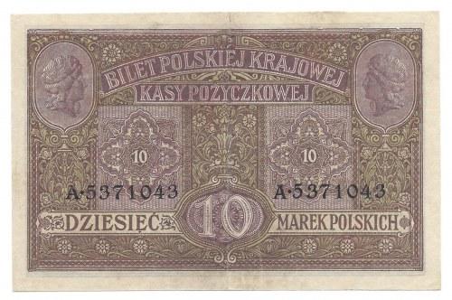 10 marek 1916 - A - Generał biletów -