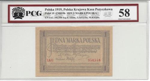 1 marka 1919 - IAG -