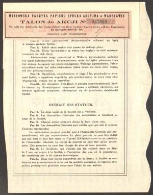 Mirkowska Fabryka Papieru - 150 złotych 1931
