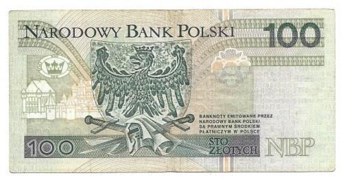 100 złotych 1994 - FZ - 0000456 - bardzo niska numeracja