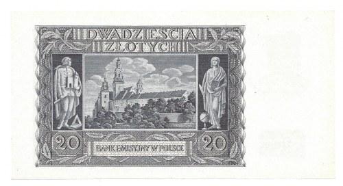 20 złotych 1940 - K -