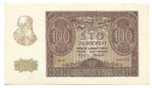 100 złotych 1940 - B - Oryginalny