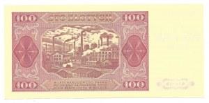 100 złotych 1948 - KR - z nadrukiem okolicznościowym