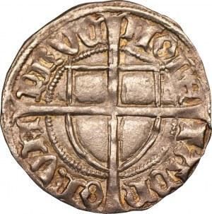 Zakon Krzyżacki - Michał Küchmeister von Sternberg - szeląg 1414-1422