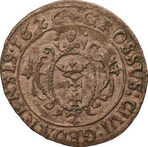 Zygmunt III Waza - Gdańsk - grosz 1626 -