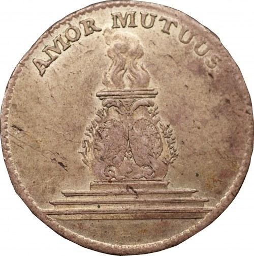 August III - dwugrosz 1747 - Drezno